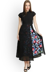 Belle Fille Black Maxi Dress
