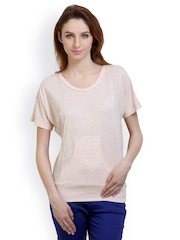 Belle Fille Women Baby Pink Top