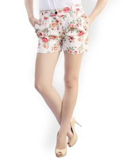 Belle Fille Women Multicoloured Printed Shorts