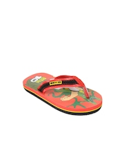 Ben 10 Boys Red & Black Flip Flops