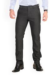Benito Men Grey Slim Fit Trousers
