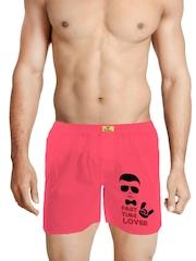 Bewakoof Men Pink Boxers Cl988BBXXL