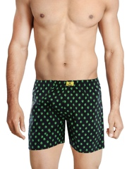 Bewakoof Men Black Printed Boxers Cl406BBXXL