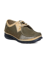 Big Boon Men Olive Casual shoes