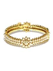 Bindhani Gold-Toned Bangle
