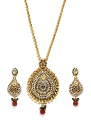 Bindhani Gold Plated Jewellery Set