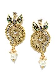 Bindhani Gold-Toned Drop Earrings