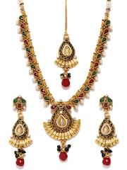 Bindhani Gold-Toned Jewellery Set