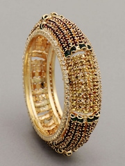 Bindhani Women Gold Coloured Bangle