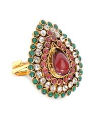 Bindhani Gold toned Finger Ring