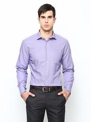 Blackberrys Men Purple Slim Fit Semiformal Shirt
