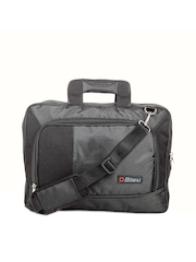 Bleu Unisex Black Laptop Bag