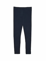Bluezoo by Debenhams Girls Navy Leggings