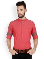 Bombay High Men Pink Slim Fit Casual Shirt
