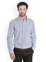 Bombay High Men Blue Slim Fit Formal Shirt