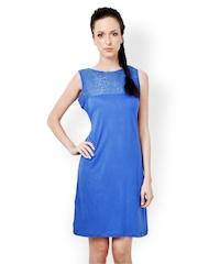 Bombay High Blue Shift Dress