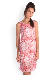 Bombay High Red Printed Sheath Dress