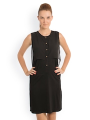 Bombay High Black A-line Dress