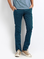 Breakbounce Men Boons Deep Blue Boons Slim Fit Chinos
