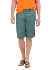 Breakbounce Men Forest Green Astral Chino Shorts