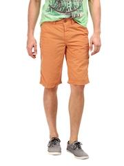 Breakbounce Men Orange Astral Chino Shorts