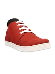 Bruno Manetti Men Red Casual Shoes