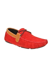 Bruno Manetti Men Red Loafers