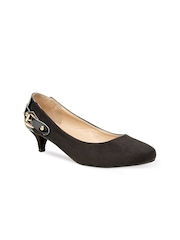 Bruno Manetti Women Black Pumps