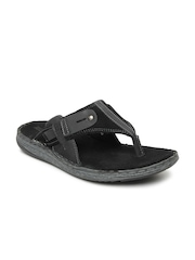 Buckaroo Men Black Frisco Sandals