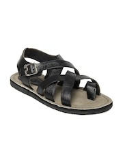 Buckaroo Men Black Sandals