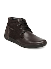 Buckaroo Men Brown Durant Leather Casual Shoes
