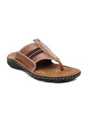 Buckaroo Men Brown Roman Sandals