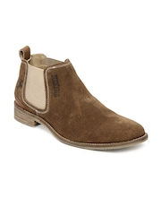 Buckaroo Men Brown Tonia Suede Casual Shoes