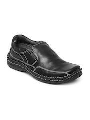 Buckaroo Men Black Conel Leather Casual Shoes