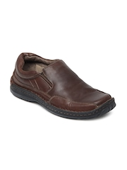Buckaroo Men Brown Conel Leather Casual Shoes