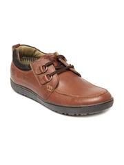 Buckaroo Men Tan DIMAS Leather Casual Shoes