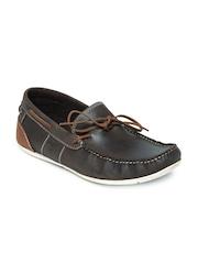 Buckaroo Men Brown KATYA Leather Casual Shoes