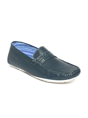 Buckaroo Men Navy Collins Leather Loafers