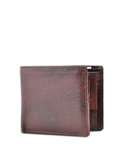 BuckleUp Men Brown Leather Wallet