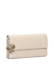 Butterflies Women Off-White Wallet