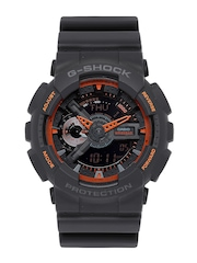 Casio G-Shock Men Charcoal Grey Analogue & Digital Watch G506
