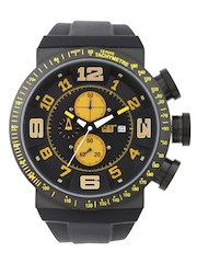 CAT Men Black Dial Watch DT.163.21.117