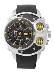 CAT Men Black Dial Watch DU.143.21.120