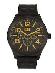 CAT Men Black Dial Chronograph Watch NI16934137