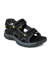 CAT Men Black Giles Sports Sandals