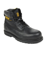 Cat Men Black Holton St Boots