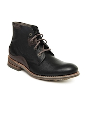 CAT Men Black Warren Boots