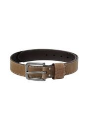 CAT Men Smoky Range Brown Leather Belt
