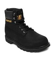 CAT Men Black Colorado Casual Shoes
