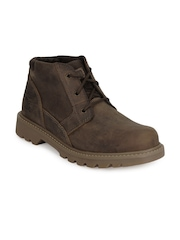 CAT Men Brown Graft Boots